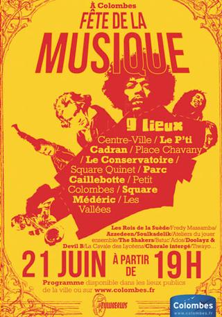 Fête de la musique à Colombes