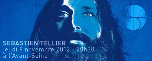 Sebastien tellier my god is blue Colombes