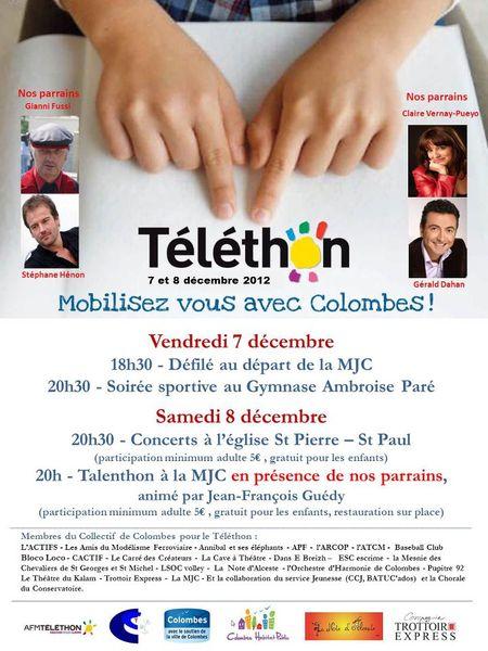 Téléthon 2012 Colombes