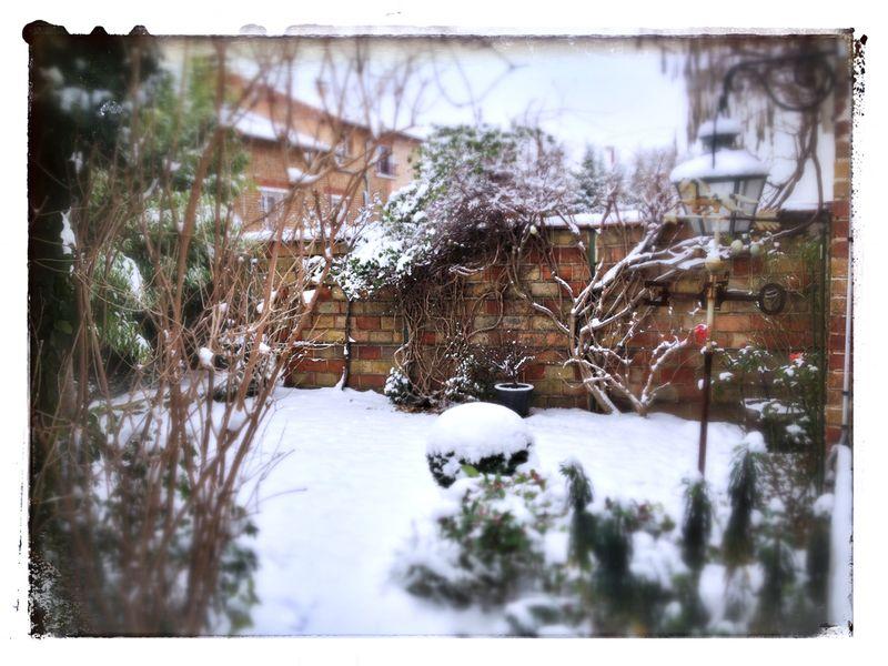 Neige à Colombes 92700