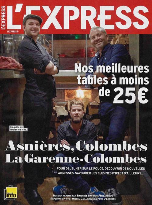 Lexpress Colombes Asnieres La Garenne